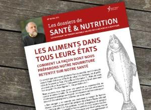 Couverture d'un numéro des Dossiers Santé et Nutrition